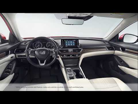 How To Use Hondalink Remote Start On The 2018 Honda Accord Youtube