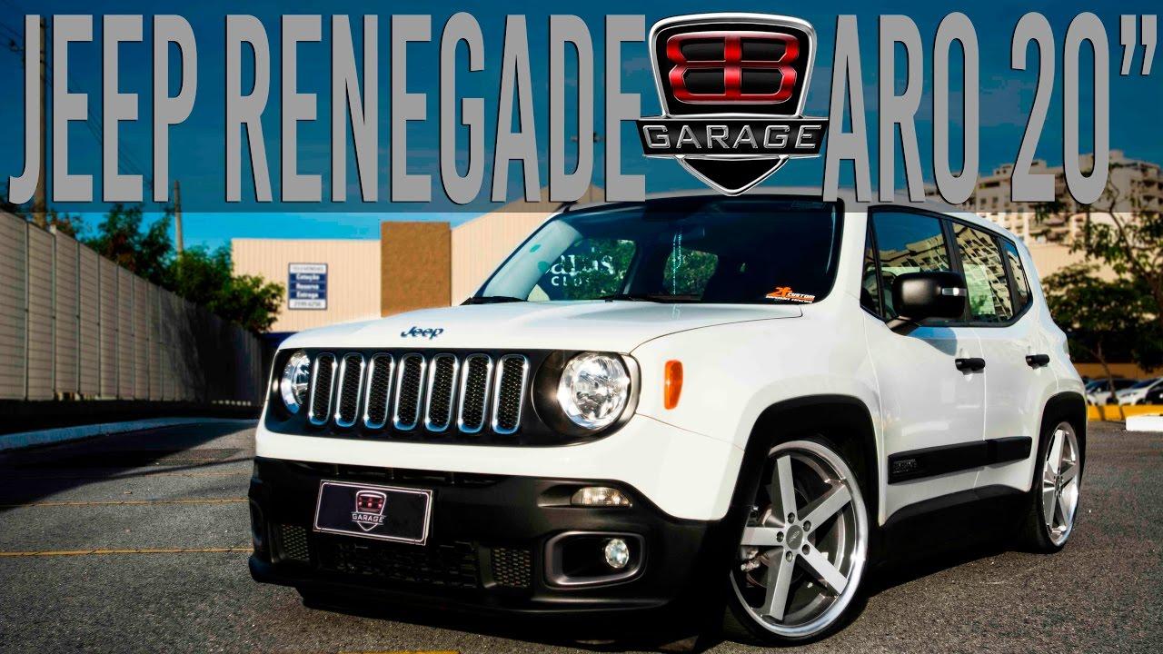 "BB Garage | Jeep Renegade | Aro 20"" - YouTube"
