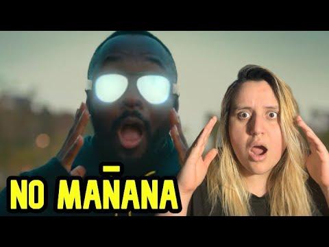 TRANSLATION? Black Eyed Peas, El Alfa - NO MAÑANA | Video Oficial | Reaccion