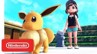 Pokémon: Let's Go - Catch, Train, Battle Trailer - Nintendo Switch