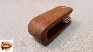 DIY Wooden Key Sheath