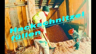 🚜Agrarwirtschaft🚜: !!ABO special!!🌲 🌳 Hackschnitzel Bunker füllen🌲 🌳