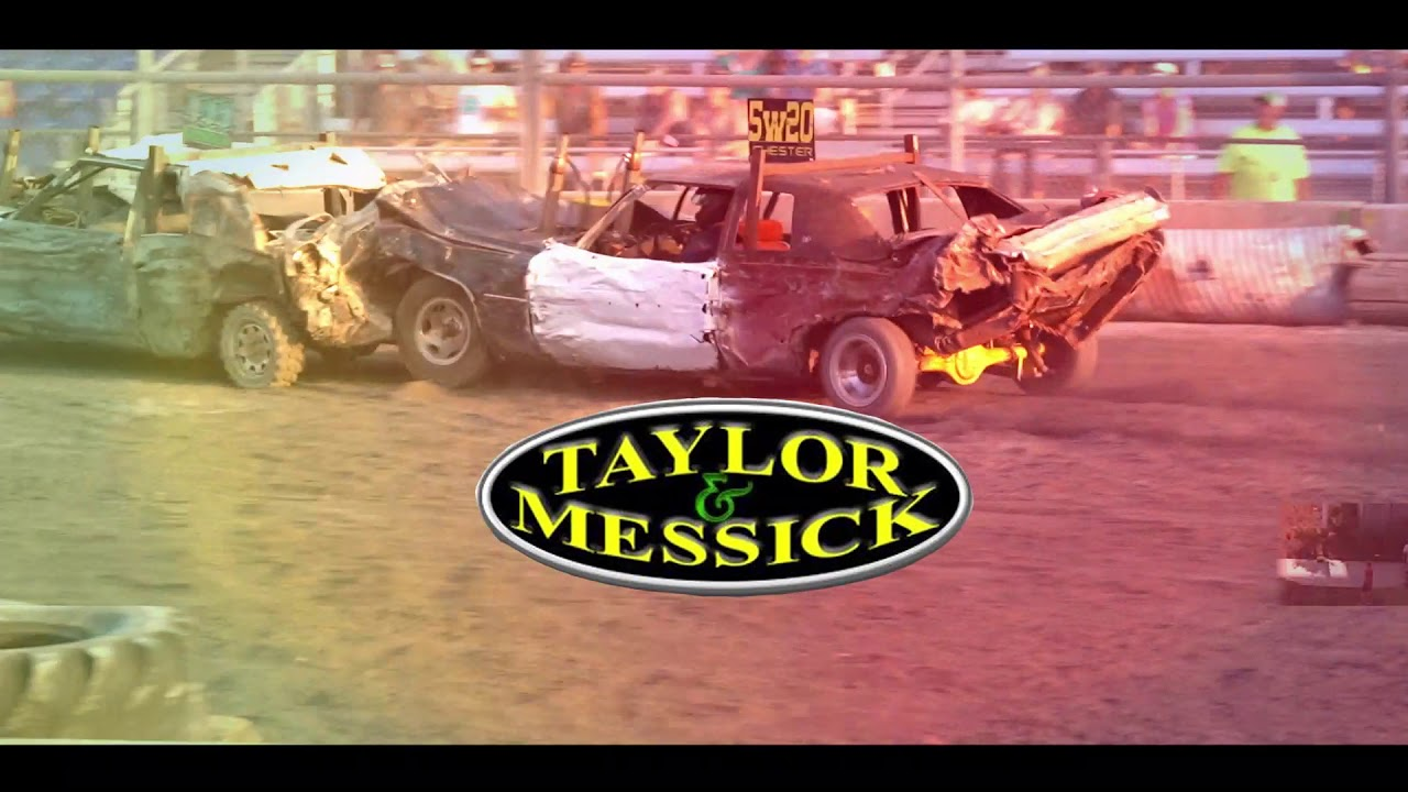 Demolition Derby At The 2020 Delaware State Fair July 31st Youtube