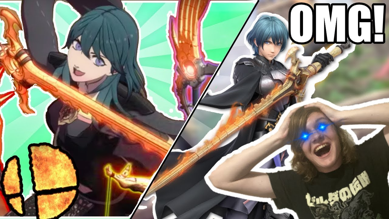 Smash Bros Ultimate: Fans Aren't Pleased With Fire Emblem's Byleth