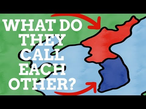 What Do North Korea & South Korea Call Each Other?