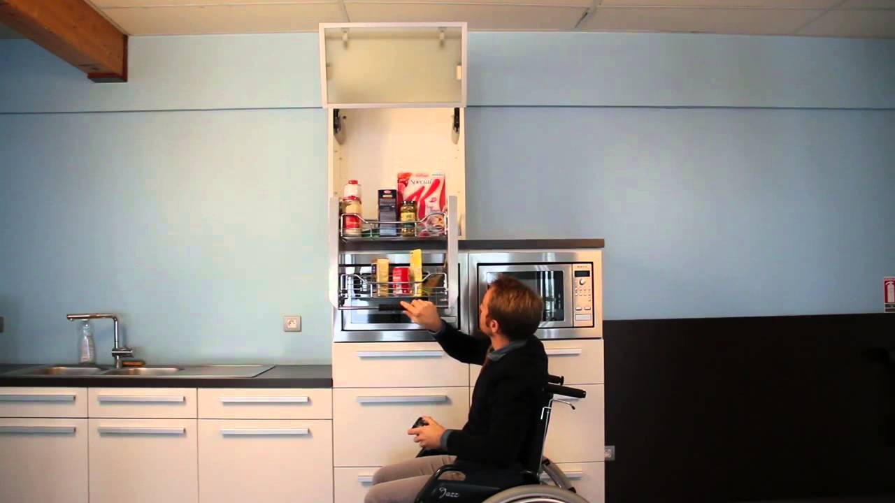 Etag res de cuisine escamotables youtube - Table cuisine escamotable ...