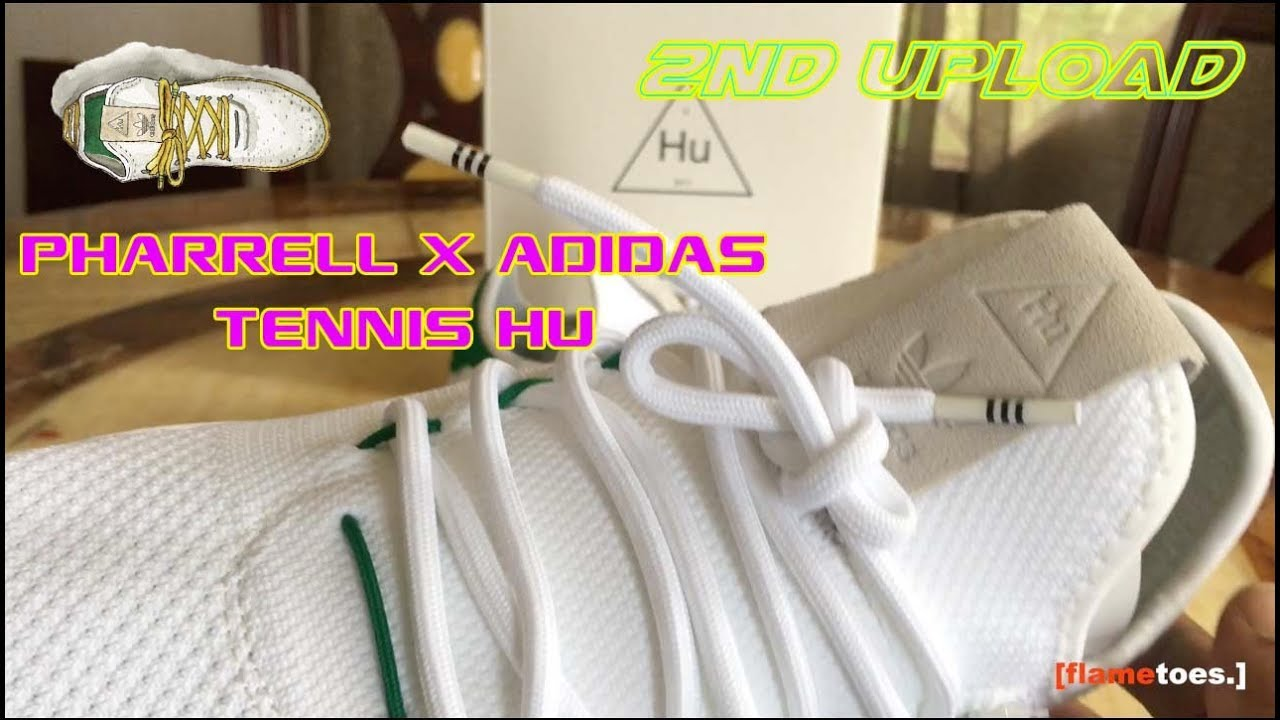 e55b388d3 Pharrell Williams X Adidas Tennis HU (Review + On Foot) 2nd Upload ...