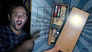 Como fazer uma luz de emergência #ManualMaker Aula 3, Vídeo 3