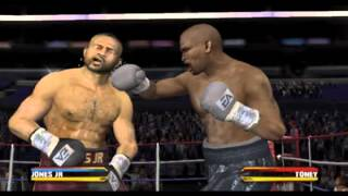 Roy Jones Jr. v James Toney - Fight Night Round 3 (PS2)
