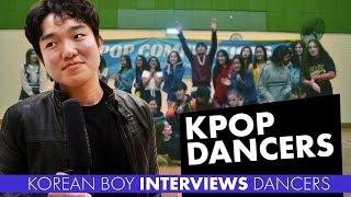 Korean Boy Interviews Dancers at KPOP Competition
