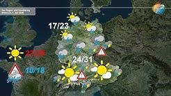Aktuelle Wettervorhersage 1. Juli 2020: Von NRW bis Berlin kräftiger Regen, sonst später Gewitter.