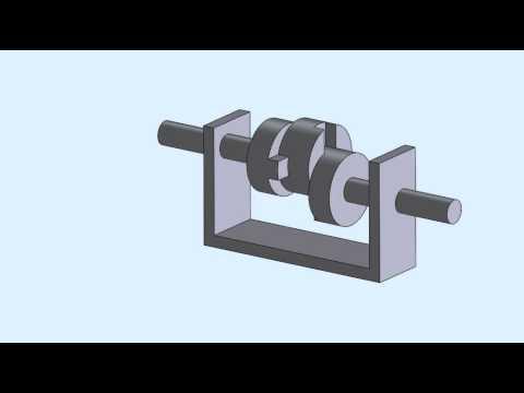 Oldham Coupling Mechanism - YouTube