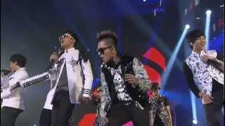 BIGBANG - Hands Up + Introduction (YG 15th Anniversary Family Concert)