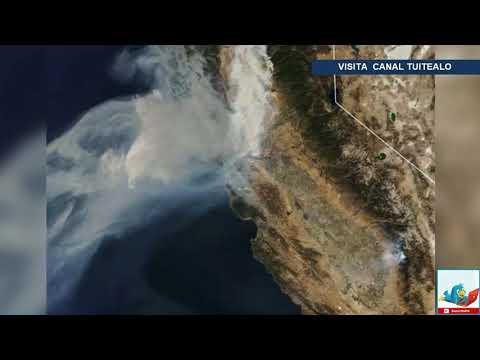 San Francisco Se Ahoga Por Humo De Incendio En California