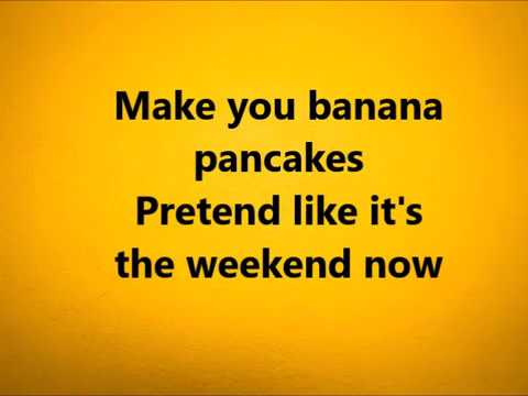 Jack Johnson - Banana Pancakes Lyrics