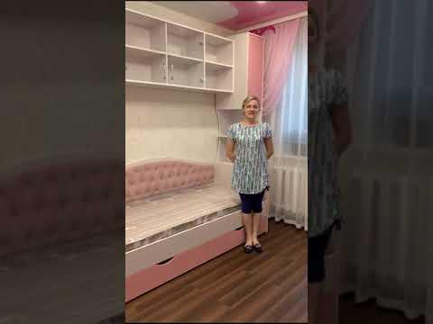Отзыв уже постоянного клиента - детская комната для девочки