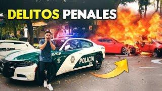 CEMENTERIO DE AUTOS MEXICANOS POR DELITOS PENALES 👮🏻♂️🚨