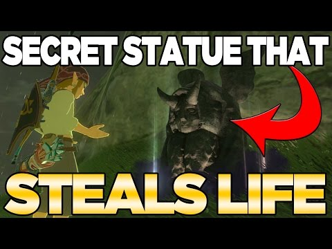Secret Statue for Hearts & Stamina in Breath of the Wild