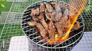 Japan street food | yakiniku :…