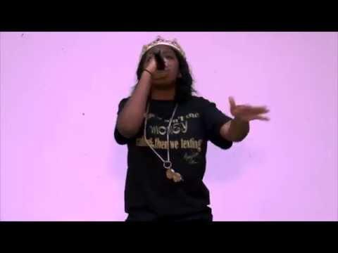 Missy Dee Da'Rapper performs in Brooklyn NYC