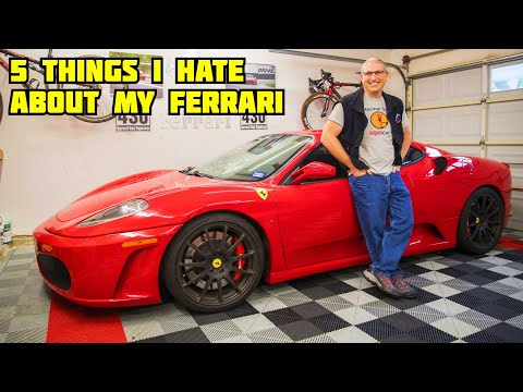 5 things I hate about the Ferrari F430