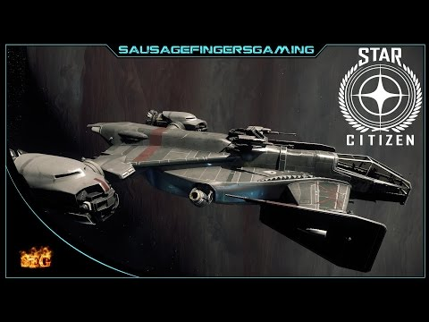 Star Citizen : My new big pirate pew pew ship !!