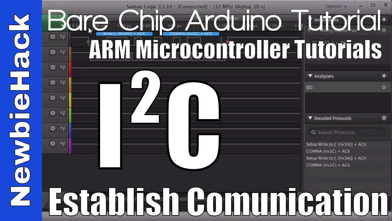 59  How to Use I2C to Read a Device's Register Part 1 - ARM STM32  Microcontroller Tutorial
