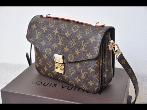 1973db4c9f60 What s in my Louis Vuitton Pochette Metis + Review - YouTube