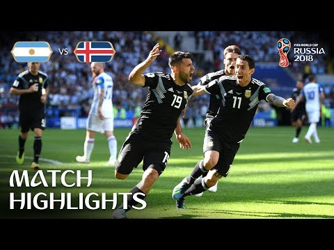 Argentina v Iceland - 2018 FIFA World Cup Russia™ - MATCH 7