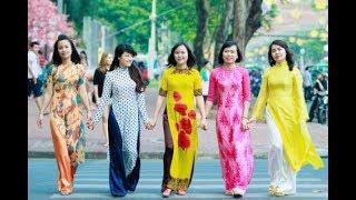 VTC14 | Cán bộ, công chức, viên chức nữ sẽ mặc áo dài trong tháng 3/2018
