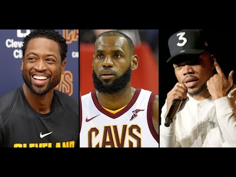 LeBron, D Wade and Chance the Rapper producing sports docs