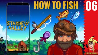 HOW TO FISH ON ANDORID/iOS | Stardew Valley Mobile P.6