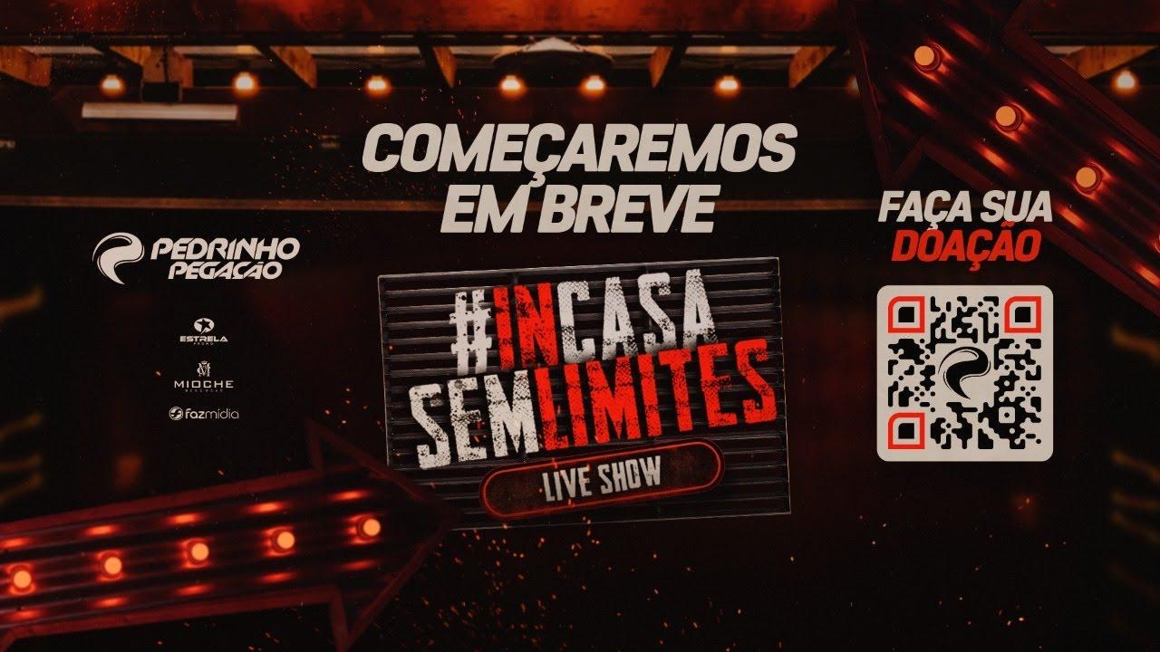 Pedrinho Pegação - Live #InCasaSemLimites | #FiqueEmCasa e Cante #Comigo