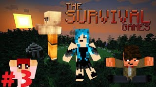Minecraft Survival Games: Episode 3: Did Arcanoth fall into the lava? OR WAS HE PUSHED?!