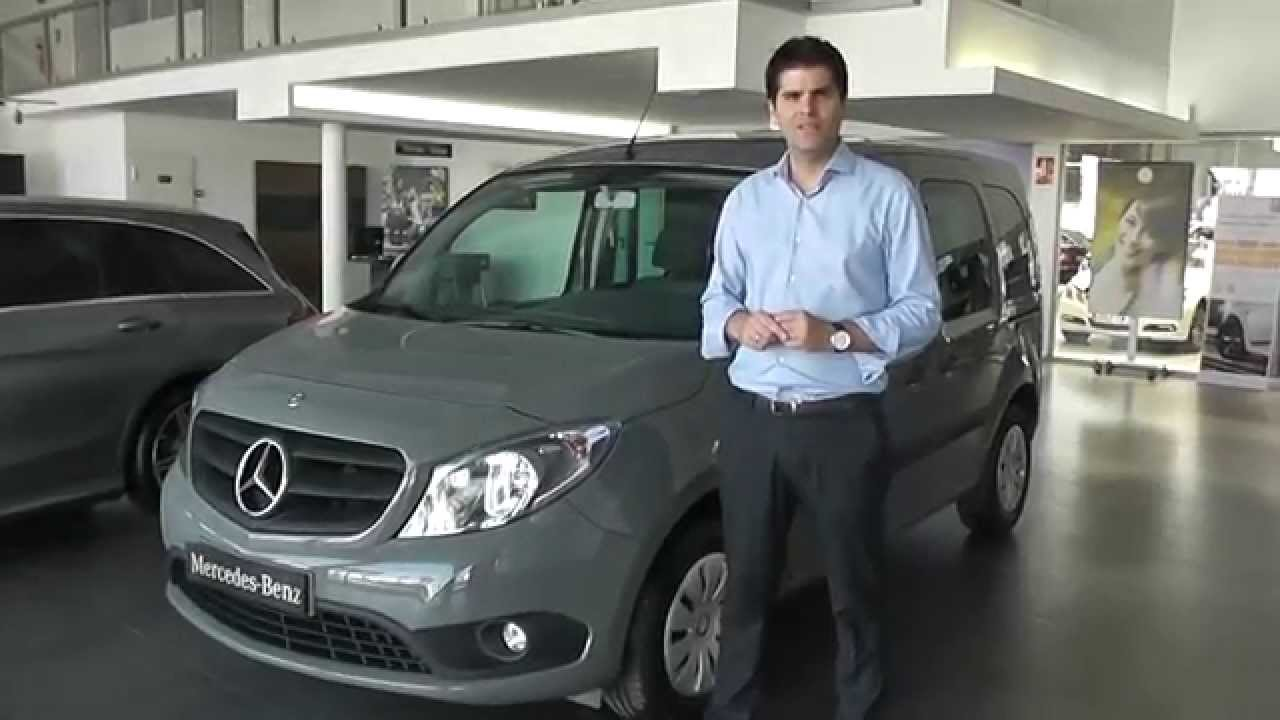 mercedes benz vegar citan 109cdi tourer pro youtube. Black Bedroom Furniture Sets. Home Design Ideas