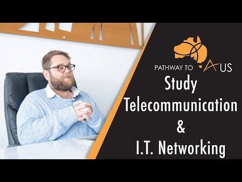 Study Telecommunications And Networking In Australia.