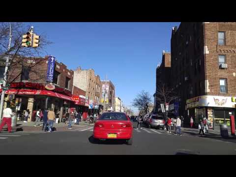 Driving from Woodside to Corona Queens,New York