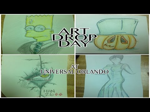 Art Drop Day 2016