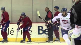 Torrey Mitchell talks of Brian Gionta's impact