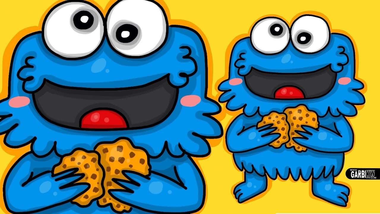 How to draw tricky cookie monster chibi by garbi kw cute and how to draw tricky cookie monster chibi by garbi kw cute and easy drawings youtube voltagebd Images