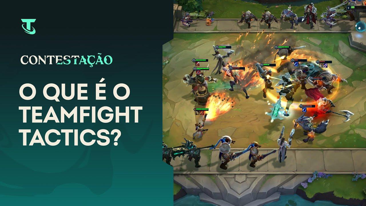O que é o Teamfight Tactics?