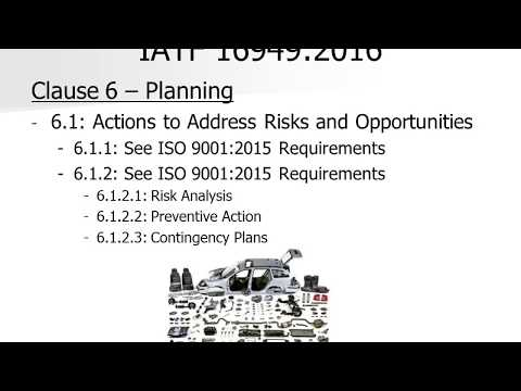 IATF 16949 2016 Overview Presentation and Training