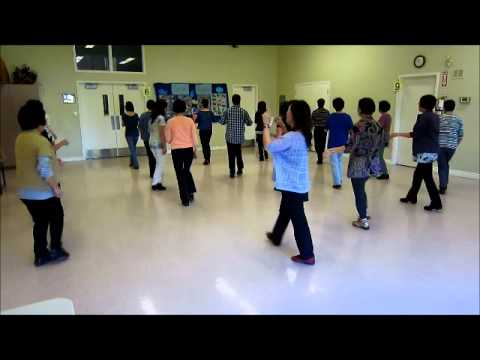 I Saw Linda Yesterday ~ Line Dance (Walk thru & Danced)