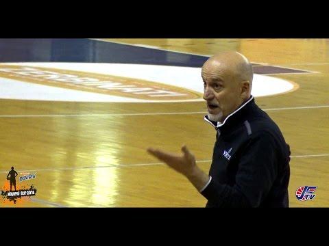 """[Novipiù Cup 2016] Clinic di Giordano Consolini: """"1vs1 difensivo"""""""