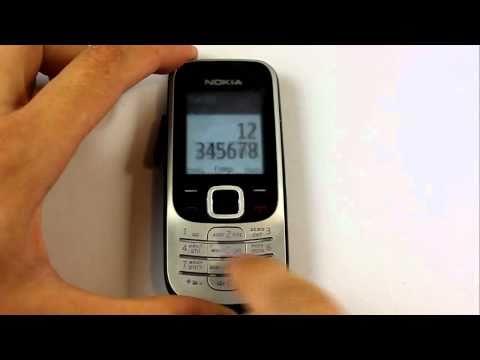 Nokia 2330. Тест на пониженную температуру