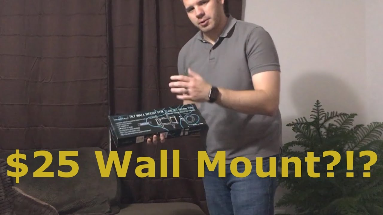 Cheetah Mounts - TV Tilt Wall Mount Review APTMM2B - YouTube