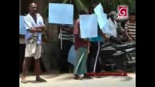 Gambar cover Residents protest removal of army camp in Kallaikadu