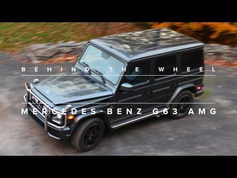Behind The Wheel: 2013 Mercedes-Benz G63 AMG