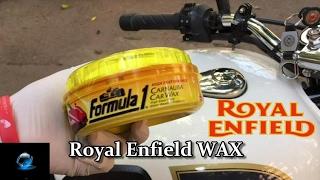 How to Wax Polish | Formula 1 | Bullet | Royal Enfield Tips and Tricks |