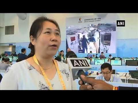 Watch: Chinese Radio reporter sings Hindi song during BRICS Summit